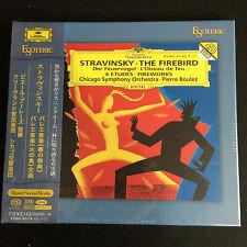 Boulez Stravinsky The Firebird SACD CD Esoteric Japan ESSD90119