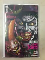 Batman Three Jokers #1 Premium Fish Variant B with promo Card DC 2020 VF/NM