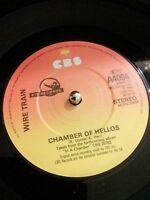 "Wire Train – Chamber Of Hellos Vinyl 7"" Single UK CBS A4094 1983"