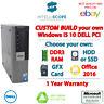 Custom Spec PC Dell OptiPlex i5 Desktop Computer HDD RAM Processor Windows 10