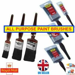 Fit For The Job DIY  Paint Varnish Brushes Easy Clean ***FAST FREE P&P***