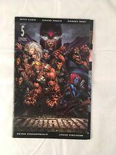 Ultimatum #5 Gatefold Finch Variant 2009 Marvel