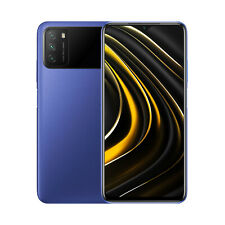 Xiaomi Poco M3 Smartphone; 4 GB + 64 GB; Blau; Neu und OVP