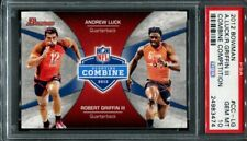 Andrew Luck Robert Griffin 2012 Bowman Combine Competition PSA 10