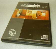 Archmodels 2005 Volume 9 - 3D Furniture Ojbects Models - WIN / MAC