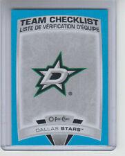 19/20 OPC Dallas Stars Blue Team Checklist card #560
