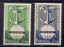 Portugal   1952   Sc # 1747-48   VLH   OG   XF   (52656)