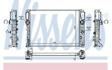 NISSENS Radiador, refrigeración del motor MERCEDES-BENZ CLASE E CLS 62797A