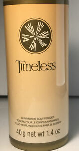 AVON Timeless Shimmering Body Powder  1.4 Oz Floral & luxurious amber fragrance