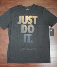 New Men Nike Just Do it Tee T-shirt Crew Neck Top Short Sleeve Graphic Large L