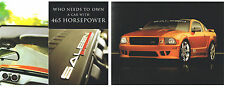 2007 Ford SALEEN MUSTANG SUPERCHARGED S281 / S-281 Brochure / Flyer: 465HP