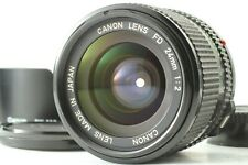 【N MINT w/ Hood】 Canon New FD NFD 24mm f/2 MF Wide Angle Lens From JAPAN #652
