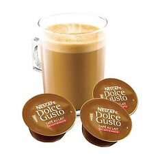 Dolce Gusto Au Lait Decaffeinated Coffee Pods 100 Capsule 100 Drinks Sold Loose