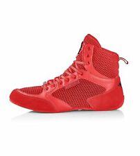 Iron Tanks Titan II Gym Shoes Diablo Red | Deadlift Bodybuilding Workout