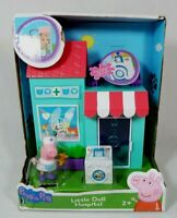NEW Peppa Pig LITTLE DOLL HOSPITAL PLAYSET FIGURE Nurse World of Peppa Pig Toy