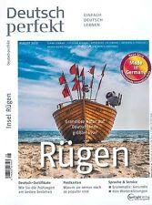 Deutsch perfekt, Heft August 08/2015: Rügen +++ wie neu +++