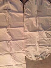 2 Giorgio Armani Authentic Garment Bags off white/lite beige with Zipper
