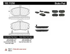 Disc Brake Pad Set-C-TEK Metallic Brake Pads Front Centric 102.11250