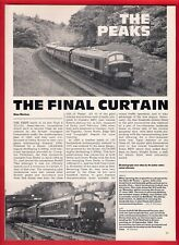 "Rail Magazine Extract ~ Class 45 ""Peaks"": The Final Curtain - Disposal List 1988"