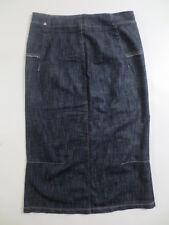 Étui Stretch Jupe MARITHE FRANCOIS GIRBAUD Midi Jeans Rock 36 38 NOUVEAU/z3