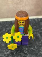 LEGO SERIES HIPPIE MINI FIGURE VGC