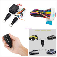10-14V Car Offroad Remote Control Central Kit Door Lock Keyless Entry System Kit