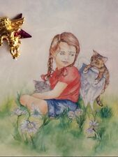 Hang In There Angel Pin Tack Card Helps Buy Food For Our Feral Cats Nonprofit