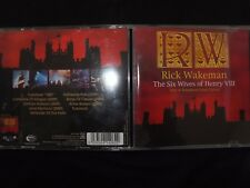 CD RICK WAKEMAN / THE SIX WIVES OF HENRY VIII / LIVE AT HAMPTON COURT PALACE /