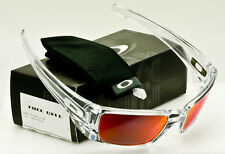 OAKLEY FUEL CELL Polished Clear-Torch Iridium OO9096-H6 *AUTHENTIC*