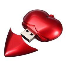 Cle USB en forme de coeur a la mode Disque U Lecteur flash USB 2.0 4 Go H5Z5 R8