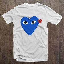 Comme Des Garcons Play USA White T shirt Size S-4XL