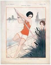"""Art DECO-érotique-Femmes-aviron """"la vie parisienne"""", 1924"""