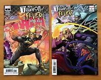 Typhoid Fever Iron Fist 1 2018 Main + Gerardo Sandoval Connecting Cover NM+