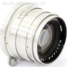 MINT! Jupiter-8 2/50mm LEICA LTM Lens 50mm Made in 1958 RARE! Focusing Tab model