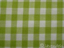 Vichy Karo Stoff ♥ Baumwolle kariert Patchwork grün 0,9