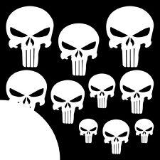 The Punisher ✔ XXL ✔ 10 Stück ✔ Aufkleber ✔ Auto ✔ Sticker ✔ Totenkopf ✔ Skull W