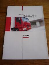 IVECO EUROCARGO CAMION, autocarro, COMMERCIALI BROCHURE