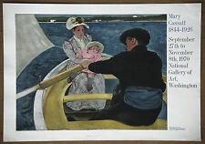 Mary Cassatt  The Boat Party Vintage Mourlot Lithograph Print