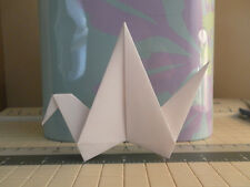 **100** LARGE White Handmade Wedding Paper Origami Cranes