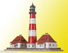 Kibri 37300 Westerheversand Lighthouse with 2 outbuildings, Kit, N
