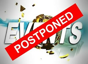 Postponed sticker 9556 Events and functions postponed let people know