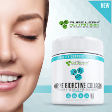 Marine Collagen Bioactive Peptides powder Beauty Glow for Skin Nails