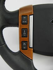 Cherry wood Steering wheel switch pack Range Rover SPORT left side 3 buttons