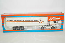 Tekno Collection Lignite Gmbh Scania 142m Environ 1/50 Neuf IN Ovp Camion Truck