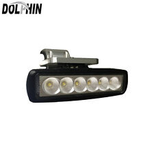 Dolphin Boat Fishing T Top LED Marine Spreader Light Black Coated