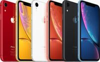 Fully Unlocked Apple iPhone XR [64/128/256GB] Black Blue Red A1984 (GSM+CDMA)