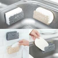 Sponges Holder Rack Drying Sink Storage Cup Dish Scrubbers Bathroom Soap U3K3