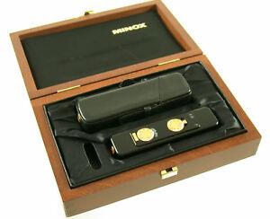 MINOX LX 2000 Edition black gold schwarz 8x11 neu new Sammlung collection