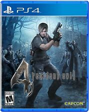 PS4 GIOCO RESIDENT EVIL 4 HD NUOVO E conf. orig. Playstation 4 spese