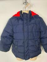 BOYS JOHN LEWIS BLUE WINTER PADDED CASUAL HOOD RAIN COAT JACKET KIDS AGE 6 YRS